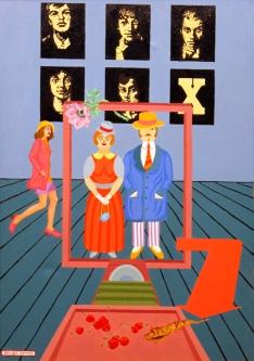 1971 Oil on canvas, 100 x 70 cm