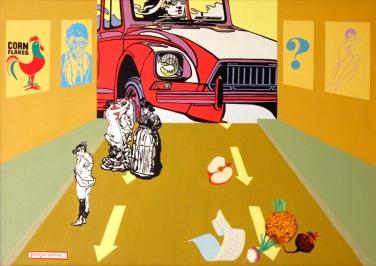 1972 Oil on canvas, 70 x 100 cm