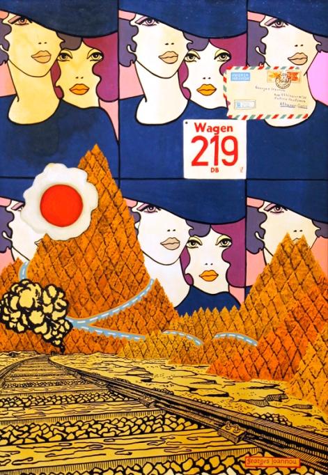 1972 Oil on canvas, 100 x 70 cm
