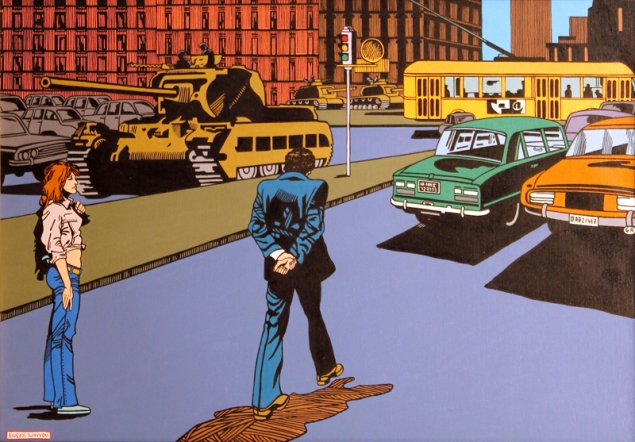 1974 Oil on canvas, 70 x 100 cm